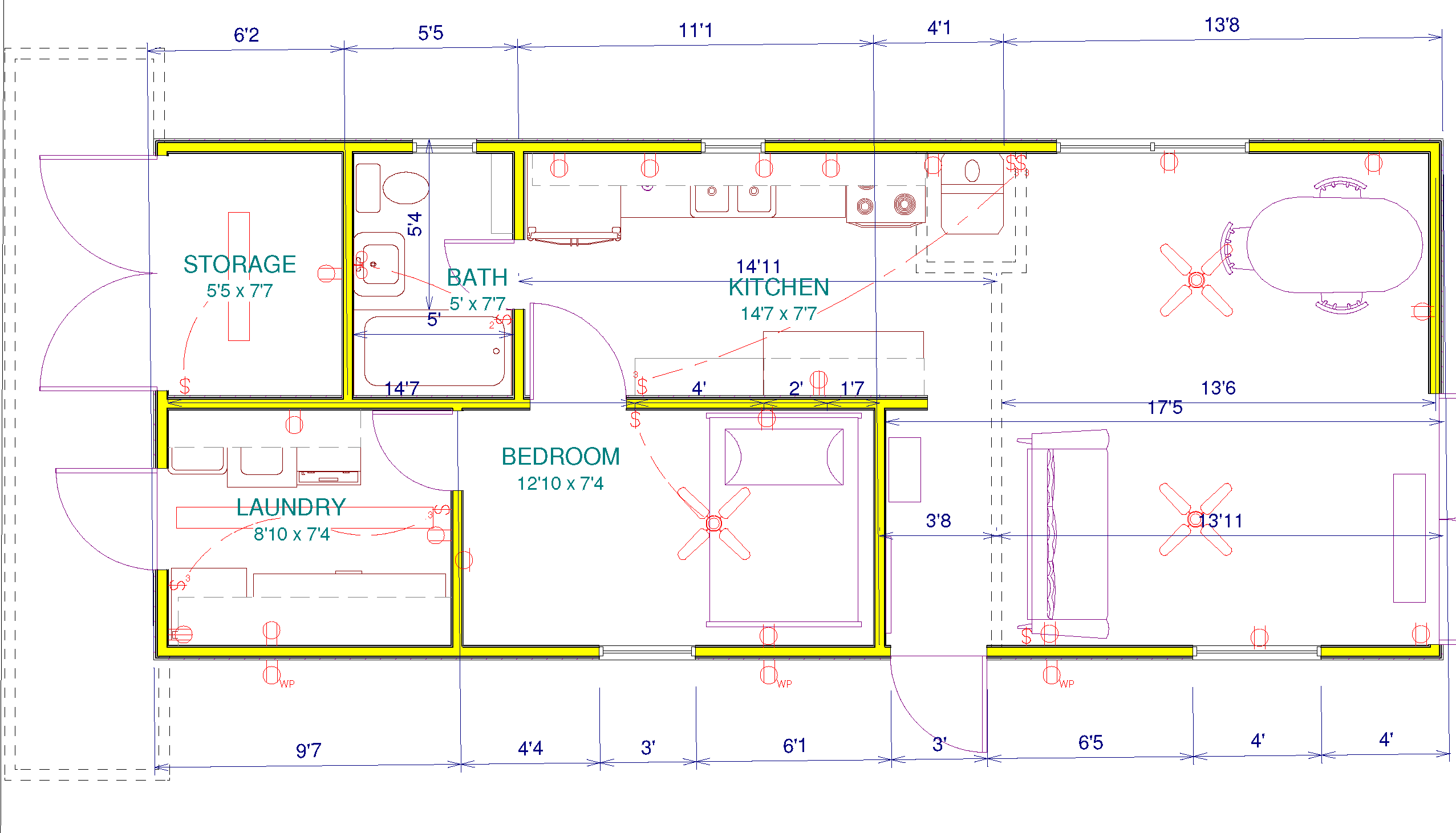 plans for wooden house